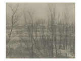 Camera Work july 1908 : Landscape Winter Giclee Print by Clarence White
