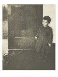 Camera Work july 1908 : Boy with Wagon Giclee Print by Clarence White
