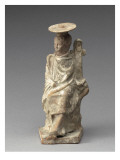 Child Sitting on a Rock Resting on a Pillar Hermaïque Giclee Print