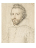Charles De Neufville, Marquis De Villeroy (1572-1642) Giclee Print by Daniel Dumonstier