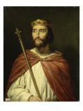 Charles III, dit le simple, roi de France en 896 (879-929) Giclee Print by Georges Rouget
