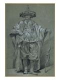 L'ambassadeur de Chine Giclée-Druck von Joseph Marie Vien