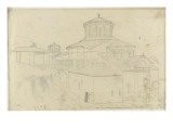 Church of the Monastery of Meteora, Perspective View Giclee Print