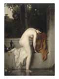 La chaste Suzanne , dit aussi Suzanne au bain Giclee Print by Jean Jacques Henner