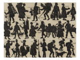 Chinese Shadows: Street Hawkers, Peddlers of Paris Giclee Print