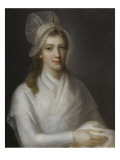 Charlotte Corday (1768-1793) Reproduction proc&#233;d&#233; gicl&#233;e par Jean Jacques Hauer