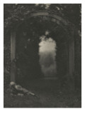 Camera Work july 1908 : Entrance to the garden Giclee Print by Clarence White