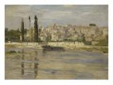 Carrières-Saint-Denis, aujourd'hui Carrières-sur-Seine Giclee Print by Claude Monet