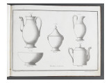 Catalogue of the Porcelain Factory Coussac Bonneval Giclee Print