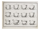 Catalogue of the Porcelain Factory Coussac Bonneval Giclee Print