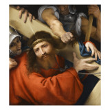 Le Christ portant sa croix Giclee Print by Lorenzo Lotto
