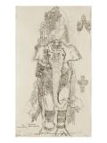 Carton 31. Etude pour la Péri Giclee Print by Gustave Moreau