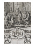 Cardinal Hat Given by the King in 1706 Mr Gualterio Giclee Print