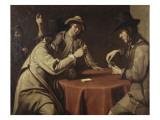 Les tricheurs (anciennement les joueurs de cartes) Giclee Print by Mathieu Le Nain