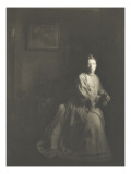 Camera Work July 1908: Portrait Mrs. Clarence White Giclee Print by Clarence White