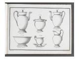 Catalogue of the Porcelain Factory Coussac Bonneval Giclée-Druck