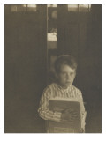 Camera Work jan 1905 : Boy with Camera Work Giclee Print by Clarence White
