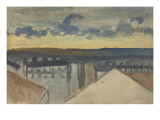 Paysage urbain Giclee Print by Théophile Alexandre Steinlen