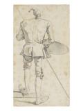 Portrait-charge du peintre Jombert Giclée-Druck von Francois Andre Vincent