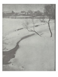 Camera Work july 1903 : Winter lanscape Giclee Print by Clarence White