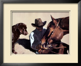 Sharing (LE) Limited Edition Framed Print by John Fawcett