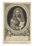 Jean-Baptiste Poquelin (1622-1673) known as Molière Giclee Print by Nicolas Habert