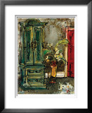 The Red Door Limited Edition Framed Print by Olivia Maxweller