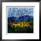 Arran From Kintyre Limited Edition Framed Print by Davy Brown