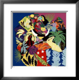 Iron Flamingo Limited Edition Framed Print by Hunt Slonem
