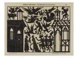 Ombres chinoises : la tentation de saint Antoine Giclee Print