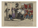 Massacre of Bishop Darboy and Prisoners of Roquette Giclee Print