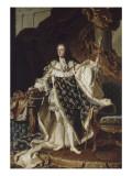 Louis XV, roi de France (1710-1774) Giclee Print by Hyacinthe Rigaud