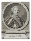 Louis of France, Dauphin, Son of Louis Xv (1729-1765) Giclee Print by Maurice Quentin de La Tour