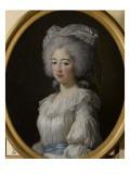 Marie-Joséphine-Louise de Savoie, comtesse de Provence (1753-1810) - représentée en 1782 Giclée-Druck von Elisabeth Louise Vigée-LeBrun