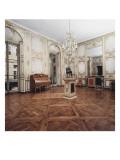 """Vue intérieure : cabinets intérieurs du Roi : salle à manger dite """"des retours de chasse"""" Reproduction procédé giclée"""