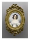 Marie-Clémentine d'Orléans (1817-1907), duchesse de Saxe-Cobourg-Gotha Giclee Print by Franz Xaver Winterhalter