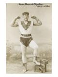 Louis Uni dit Apollon (à 16 ans 1/2),  leveur de poids Giclee Print