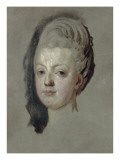 Marie Antoinette Habsburg-Lorraine, So Dauphine, 1772 Giclee Print by Joseph Siffred Duplessis