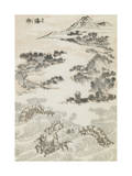 Manga, volume 3 : les lutteurs Giclée-Druck von Katsushika Hokusai