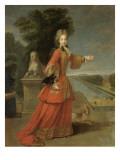 Marie-Adélaïde de Savoie, duchesse de Bourgogne (1685-1712) Giclee Print by Pierre Gobert