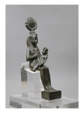 Isis allaitant Harpocrate (Horus enfant) Giclee Print