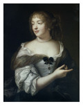 Mary Rabutin-Chantal, Marquise De Sevigne (1626-1669) Giclee Print by Claude Lefebvre