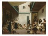 Noce juive au Maroc Giclee Print by Eugene Delacroix