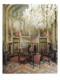 Vue intérieure. Appartements de Napoléon III : Petite Salle à manger Reproduction procédé giclée