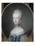 Marie-Antoinette, archiduchesse d&#39;Autriche, future Dauphine de France (1755-1793) Reproduction proc&#233;d&#233; gicl&#233;e par Joseph Ducreux