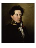 Isidore-Justin-Séverin, baron Taylor, inspecteur des Beaux-Arts en 1838 (1789-1879) Giclee Print by Federico de Madrazo y Kuntz