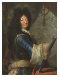 Louis XIV, roi de France et de Navarre (1638-1715 ) Giclee Print by Jean Ranc