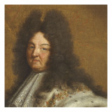 Louis XIV, roi de France Giclee Print by Hyacinthe Rigaud