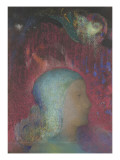 Jeanne d'Arc Reproduction procédé giclée par Odilon Redon