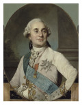 Louis XVI, roi de France et de Navarre (1754-1793) repr&#233;sent&#233; en 1778 Reproduction proc&#233;d&#233; gicl&#233;e par Joseph Siffred Duplessis